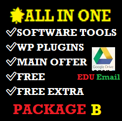 package-B-with-software-tools-plugins-bundled-and-edu-email